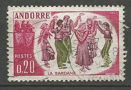 ANDORRE N° 166 OBL TB