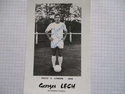 Photo Dedicacee Georges Lech - Autogramme & Autographen