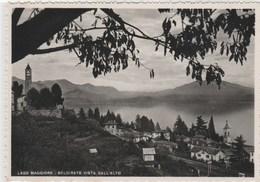 BELGIRATE  Vista Dall'alto - 105x150 Dentelée , Glaçée - Italia