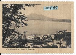 Campania-castellammare Di Stabia Veduta Particolare Panorama Cantieri Anni/40 - Castellammare Di Stabia