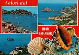 SALUTI  DA  MONTE  ARGENTARIO  (GR)     (VIAGGIATA) - Italia