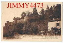 CPA - N° 7 - BRESSUIRE 79 Deux Sèvres - Les Ruines Du Château Datant Des XIIè Et XIIè Siècle - Edit. GABY G. Artaud Nant - Bressuire