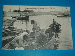 56 ) Marin Préparant La Cautriade Au Retour De La Pêche N° 6267 -  Année  - EDIT : Villard - France