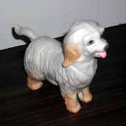 Figurine Vintage Chien Tête Articulée En Plastique Dur - Dogs