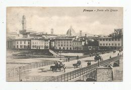 G-I-E , Cp , FIRENZE , FLORENCE , Ponte Alle Grazie , Attelage , Chevaux , Voyagée 1910 - Firenze (Florence)