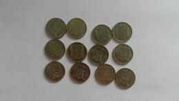 Lot De 12 Monnaies  - 10 Francs Turin 1947  Trés   Bon Etat - Kilowaar - Munten