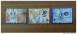 2003 VATICANO FRANCOBOLLI NUOVI STAMPS NEW MNH** - Viaggi Di Papa Giovanni Paolo II Nel 2002 - - Vaticano