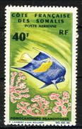 Costa Dei Somali Posta Aerea 1966 N. 51  F. 40 MNH Cat. € 8 - Unused Stamps