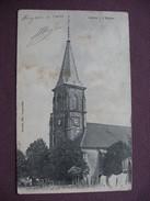 CPA 70 CITERS L'Eglise Et Ses Abords PRECEURSEUR RARE PLAN 1910  Canton LUXEUIL LES BAINS - Autres Communes