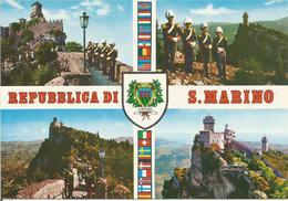 REPUBLICA DI S. MARINO.  (scan Verso) - Saint-Marin