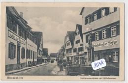 CPA  -   Allemagne -  Brackenheim - Heilbronnerstrasse - Andere