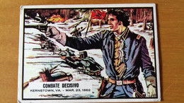 SPANISH CIVIL WAR NEWS - TOPPS PRINTED IN SPAIN - 12 - BUBBLE GUM CARD - SIXTIEES - Confectionery & Biscuits