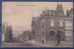 Caudry (Nord) Rue De Saint Quentin N°189 Flamme Caudry Ses Tulles Dentelles Broderies 15.9.30 - Caudry