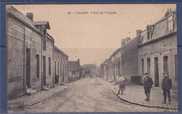 Caudry (Nord) Rue De L'Egalité N°235 Flamme Caudry Ses Tulles Dentelles Broderies 8.3.29