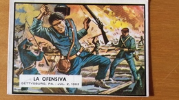 SPANISH CIVIL WAR NEWS - TOPPS PRINTED IN SPAIN - 46 - BUBBLE GUM CARD - SIXTIEES - Confectionery & Biscuits
