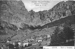 LEUK / LEUKERBAD → Bad Und Gemmi ( Hotel Wildstrubel, Gemmi Passhöhe) Ca.1910 - VS Wallis