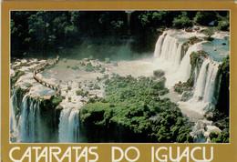 CATARATAS  DO IGUACU   SALTOS  FLORIANO     2 SCAN   (VIAGGIATA) - Altri