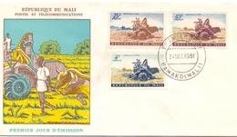REPUBLIQUE DU MALI FDC (GEN170096) - Agricoltura