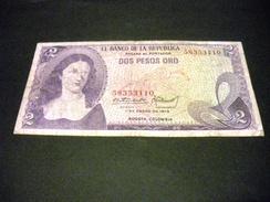 COLOMBIE 2 Pesos Oro  01/01/1973 , Pick N°413 A , COLOMBIA - Kolumbien