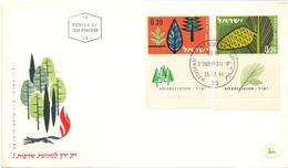 ISRAEL 1961  FDC AGRINDUSTRY  (GEN170100) - Agricoltura