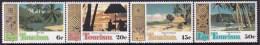 FIJI 1980 Tourism Sc 430-33 Mint Never Hinged - Fiji (1970-...)