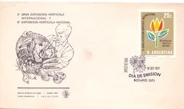 ARGENTINA FDC EXPOSITION HORTICOLA 1971  (GEN170103) - Agricoltura