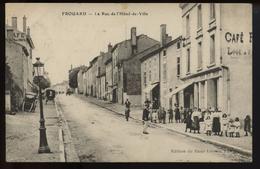 Frouard La Rue De L Hotel De Ville - Frouard