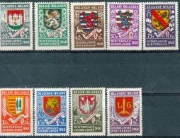 N° 538-546  XX - 1940 - Neufs