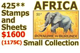 Congo - Sénégal - Ruanda - Rwanda - Zaire - Burundi - Sud-Kasai - Exotiques - CentrAfrique - Mauritanie ...  NO RESERVE! - Postzegels