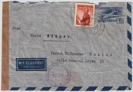 1951, Luftpost Nach Mexico, R! , #7264 - 1945-60 Briefe U. Dokumente