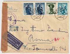 1952, Luftpost Nach Italien!, #7265 - 1945-60 Briefe U. Dokumente