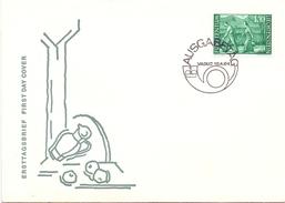 LIECHTENSTEIN 1964 FDC VADUZ 1964  (GEN170106) - Agricoltura