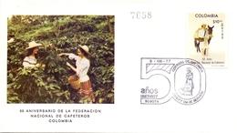 COLOMBIA CAFETEROS 1977  (GEN170109) - Agricoltura