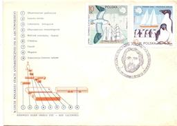 POLAND 1987 ARCTIC FISHING FDC 2 PIECES  (GEN170114-15) - Alimentazione