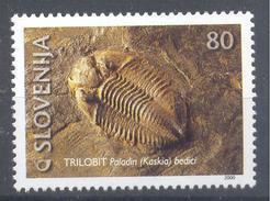 Slovenia Slovenie Slowenien 2000 Mint MNH **: Fossilien Fossils Fossiles Trilobit
