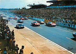 Ref U258- Size -dimensions Environ: 15cms X 10,5cms - Sports -sport Automobile -le Mans -sarthe -circuit Des 24heures - Le Mans