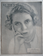 LE THEATRE & COMOEDIA ILLUSTRE..1924.:THEATRE & CINEMA: CASINO De PARIS .RUDOLPH VALENTINO . BERNARD SHAW . - Cinéma/Télévision