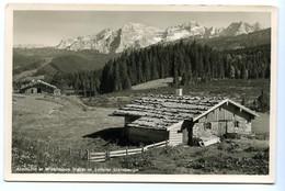 Almhütte In Winklmoos Mit Loferer Steinberge, 1951 - Other