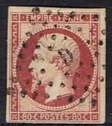 N°17 TTB Oblitération Losange D - Marcophilie (Timbres Détachés)