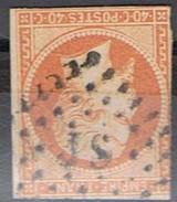 N°16 TTB Oblitération Losange JS Lettres Romaines - Marcophilie (Timbres Détachés)