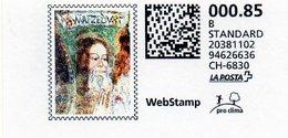 Svizzera - Webstamp (nuovo) - Il Beato Manfredo Settala - Svizzera