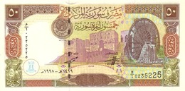 SYRIA 50 SYRIAN POUNDS 1998 P-107 UNC  [SY621a] - Syria