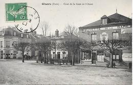 GISORS - ( 27 ) - Cour De La Gare - Gisors