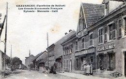 CRAVANCHE TERRITOIRE DE BELFORT  EPICERIE MERCERIE CAFE LES GRANDS ECONOMATS FRANCAIS SUCCURSALE 350 - France