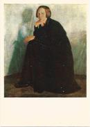 "RUSSIA - RUSSIE - RUSSLAND Borisov ""Portrait Of The Artist's Wife In Black"" - Schilderijen"
