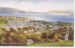 VALENTINES ART A565 -  DUNOON And THE FIRTH OF CLYDE - Argyllshire