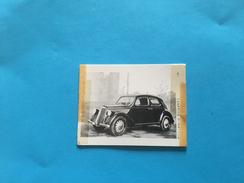 AUTO LANCIA 12-FOTO 80x60 Mm.FOTO 1941 - Automobiles