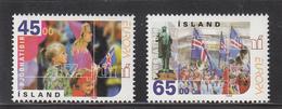 IJSLAND POSTZEGELSERIE NATIONAAL FEEST UITGAVE 1998 - 1944-... República