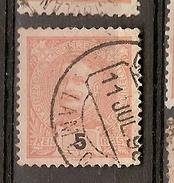 Portugal & Marcofilia D. Carlos I, 1895-96  Lamego (121) - 1892-1898 : D.Carlos I