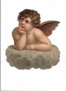 SUPERBE GRAND DECOUPI ANGELOT - Anges